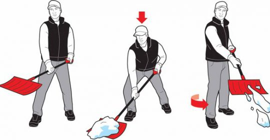 Wintertime Shoveling Tips