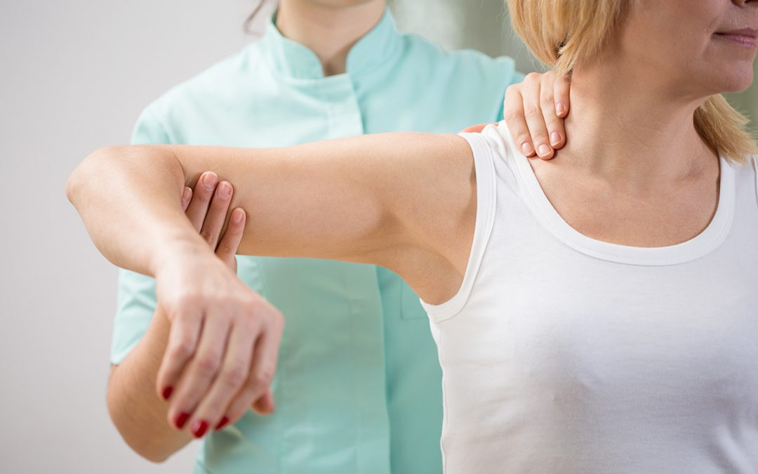 Stand Up Straight to Treat Shoulder Pain